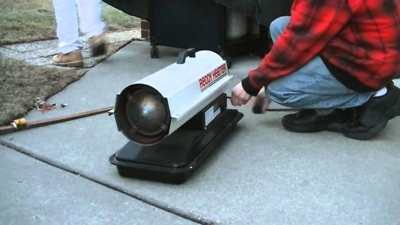 How To Light A Kerosene Heater